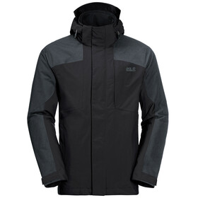 Jack Wolfskin Viking Sky 3in1 Jacket Men black